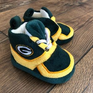 Green Bay Packers Baby Booties